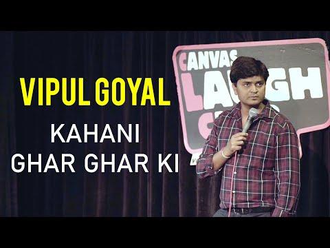 "Kahani Ghar Ghar Ki & Mini Series ""FLATMATES' Announcement | Stand-Up Comedy By Vipul Goyal"