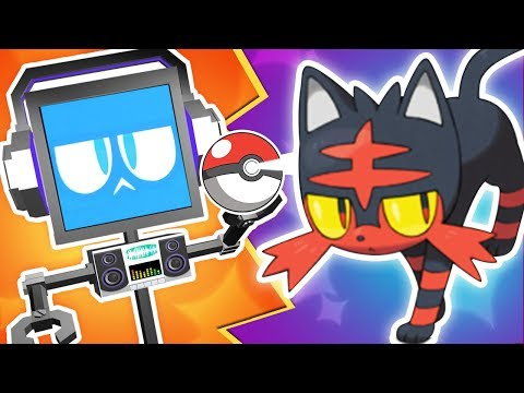LITTEN SONG ► Fandroid The Musical Robot 🔥 (Pokemon Sun & Moon Music Video)