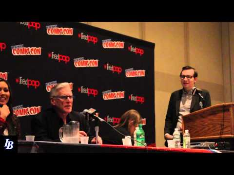 ABRAMS presents the Adventure Time Encyclopaedia panel with the Lord of Evil and Marceline
