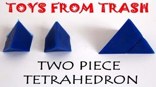 Two Piece Tetrahedron | Hindi | Plastic Puzzle