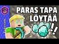 Minecraft Kuinka löytää helpoiten TIMANTTIA!!! - YouTube