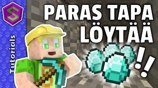 Miten löytää timanttia! | Minecraft Tutoriaali