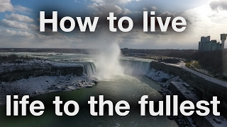 Flying a Drone over Niagara Falls? - How to Live Life to the Fullest - Bobby Leach