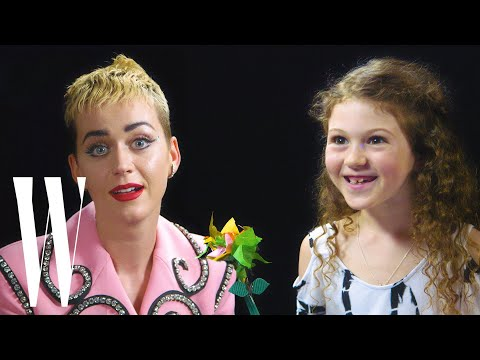 Katy Perry Gets Interviewed by a 7-year-old | Kid Interview | W Magazine