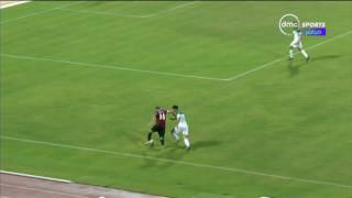 بطولة كاس العالم العسكرية - رأسية خطيرة من عمرو مرعي ولكن حارس الجزائر يتصدى من على الخط