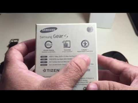 Samsung Galaxy Gear S:  Unboxing And Initial Setup