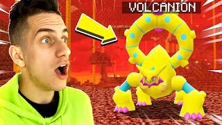CATCHING A NETHER LEGENDARY POKEMON in MINECRAFT!