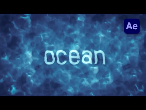 HOW TO CREATE REALISTIC WATER IN AFTER EFFECTS