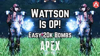 How To Get EASY 20+ KILLS With WATTSON! Shadowfall Fight Or Fright Gameplay Apex Legends