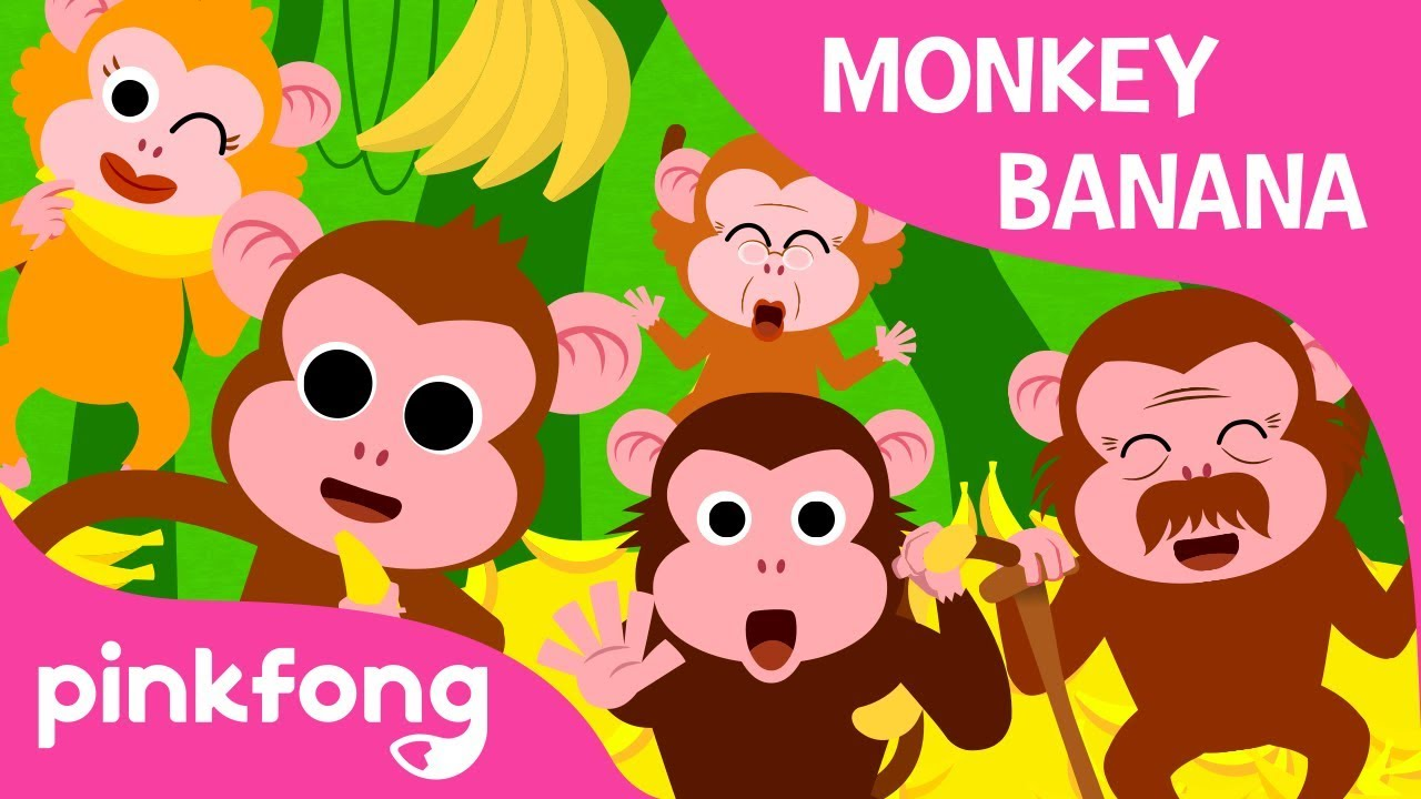 Monkey Banana Baby Animal Songs Pinkfong For Children
