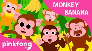 Monkey Banana-Baby Monkey | Animal Songs | PINKFONG Songs for Children thumbnail