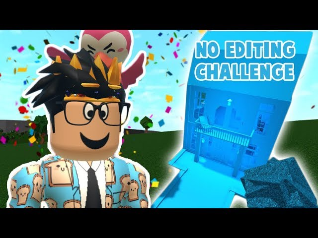 Trying Not To Edit This Bloxburg Video I Did A One Color Only