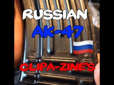 Russian AK-47 30rd Magazines (Izhmash-Tula) Steel Mags 7.62x39mm Рожок автомата Калашникова