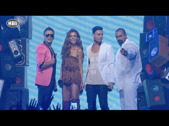 Claydee, Faydee, ΒΟ feat. Ελένη Φουρέιρα - MAD VMA 2015 by Coca-Cola (Full Version)