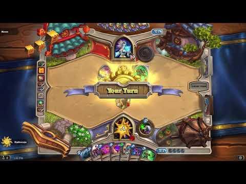 Hearthstone warlock Loa 9/9 game