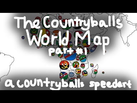 Africa! | The Countryballs World Map #1 | Thank You For 200