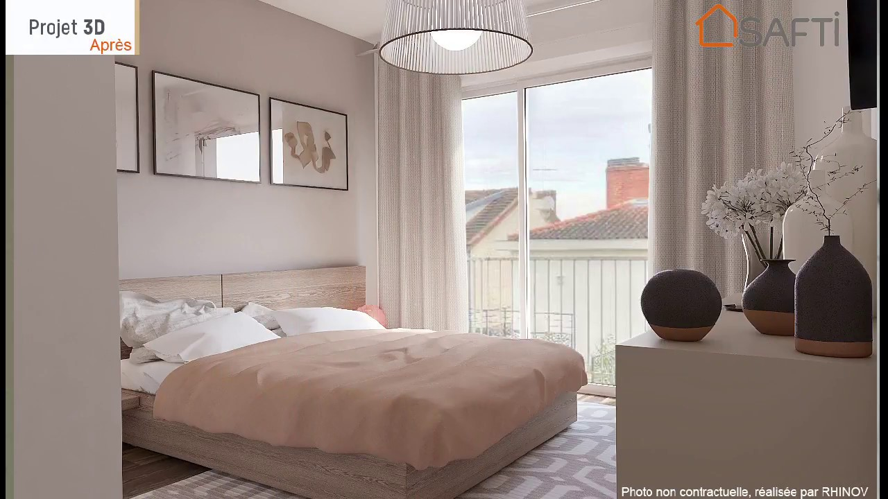Avant Apres Chambre Home Staging 3d Virtuel