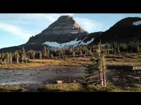 Global warming melts Montana's famous glaciers