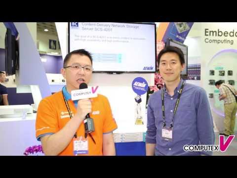 【2016 COMPUTEX TAIPEI】 AEWIN - Storage Server Platform SCS-4201