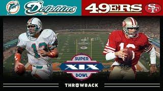 Quarterback Legends Collide! (49ers vs. Dolphins Super Bowl 19)
