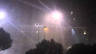 Grandine e vento forte a Gorgonzola (MI) 9-06-12 (HD)