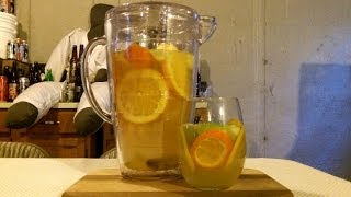How To Make White Sangria ✦ High Abv Version ✦ (recipe Included) Djs Brewtube Beer Review