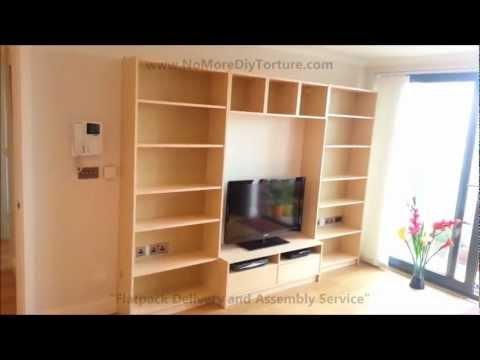 IKEA Billy Benno TV Stand with Storage