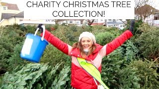 CHARITY CHRISTMAS TREE COLLECTION WITH MY GRANDPA | Niomi Smart