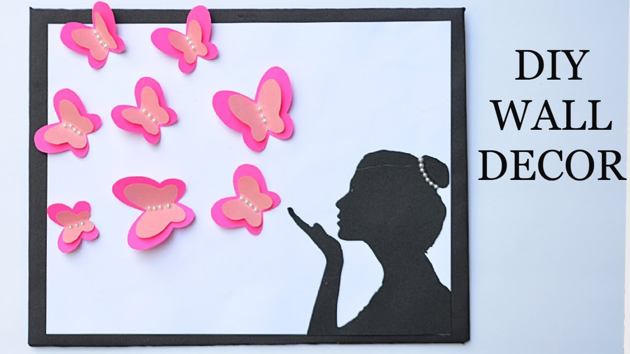 Butterfly Wall Decoration Ideas Diy Room Decor Ideas