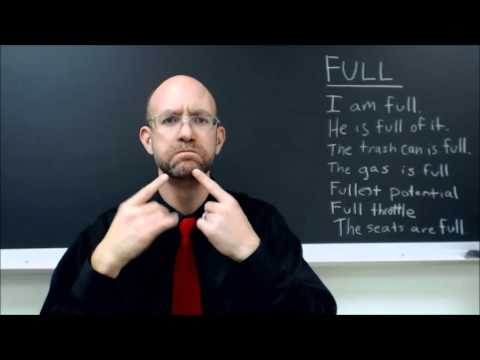 FULL   ASL - American Sign Language