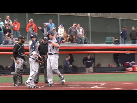 No. 25 Illinois Baseball Highlights vs. Grand Canyon 4/21/18
