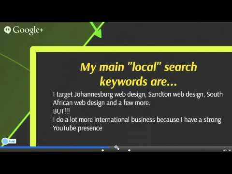 Why Use a Local Web Designer - Sandton, South Africa is this example
