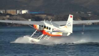 """""""Bandırma deniz uçağı"""" Cessna 208 Caravan with amphibious floats"""