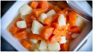 Carrots And Potatoes - Marchewka Z Ziemniakami - Ania's Polish Food Recipe #37