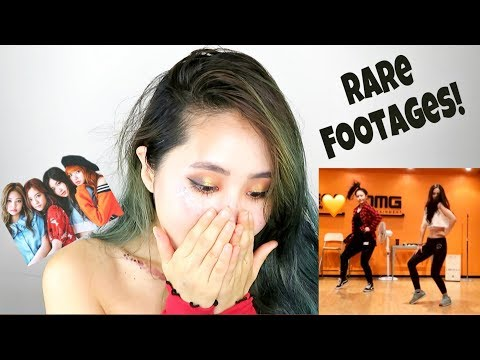 Reacting to My Old Kpop Trainee s RARE FOOTAGES 그레이스