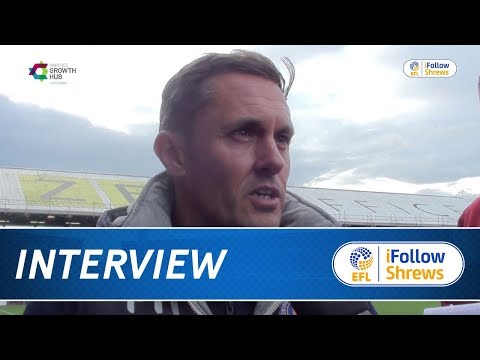 iNTERVIEW  Paul Hurst post Oldham  Town TV