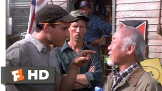 The next karate kid (1994) - gas station fight scene (2/10) | movieclips