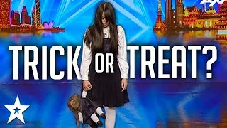 Download SCARIEST MAGIC TRICK! Creepy Girl Freaks Out Asia's Got Talent Judges Mp3 and Videos