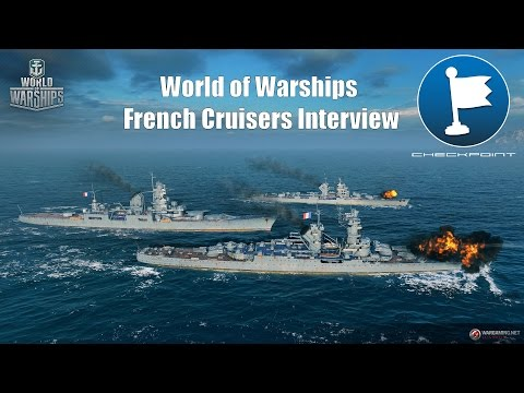 World of Warships French Cruisers interview 4/4 - Developer's soapbox, why to play?