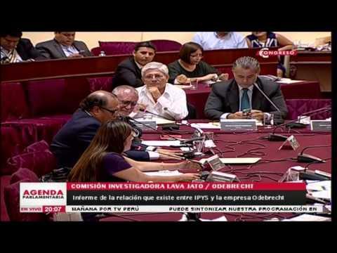 Segundo momento incómodo entre Karina Beteta y Augusto Alvarez Rodrich (08022017)