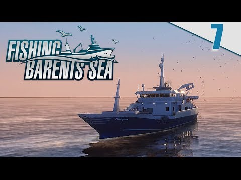 FISHING BARENTS SEA #7 - NUEVO BARCO LUNAR BOW  | Gameplay Español