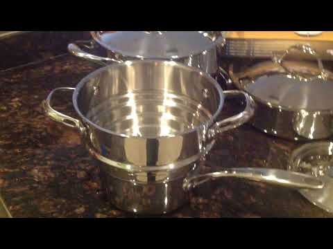 Cooks Standard 10 piece stainless steel cookware set. The last cookware you'll ever buy!
