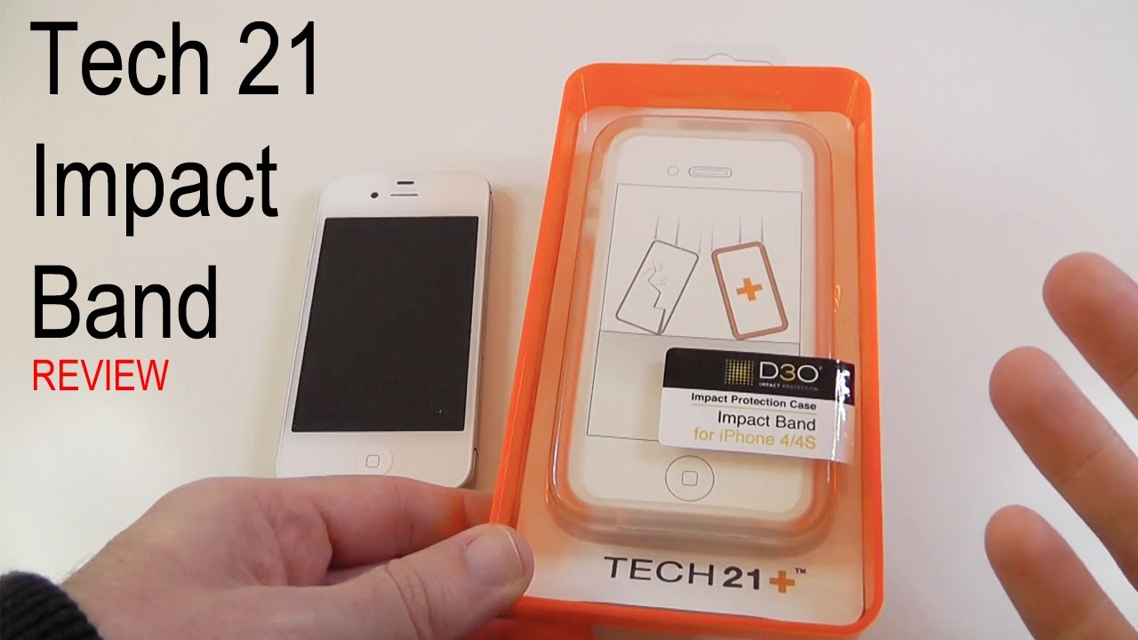 timeless design c5612 08a23 Tech 21 Impact Band Review for iPhone 4 & 4S