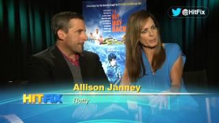 The Way, Way Back - Steve Carell \u0026 Allison Janney Interview