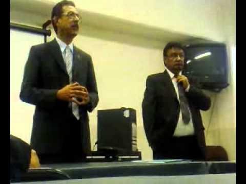 mario herrera y Dr. Felipe Cuamea Rector de la UAB...