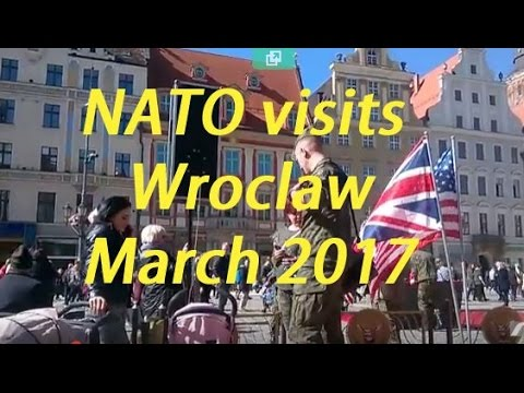 Picnic with Nato - American troops visit Wroclaw