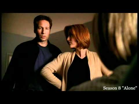 Scully and Mulder - cute dialog