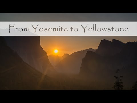 Yosemite to Yellowstone - a 4K Ultra HD Timelapse Film of Five National Parks