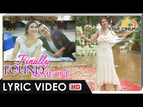 Lyric Video | 'I Just Fall In Love Again' by Sarah Geronimo | 'Finally Found Someone'