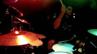 """Project Protocol """"Caged"""" live drummer view"""